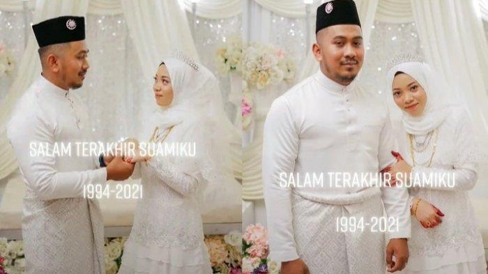 BARU Menikah Langsung Jadi Janda, Istri Pilu Suami Dijemput Maut 11 Hari Setelah Pernikahan