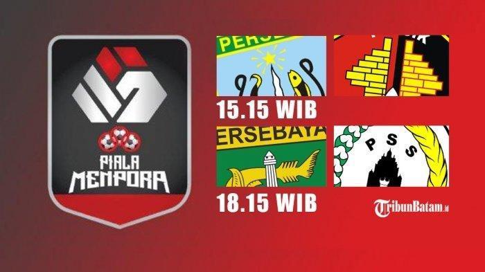 Ilustrasi pertandingan Persela vs Persik, PSS vs Persebaya.
