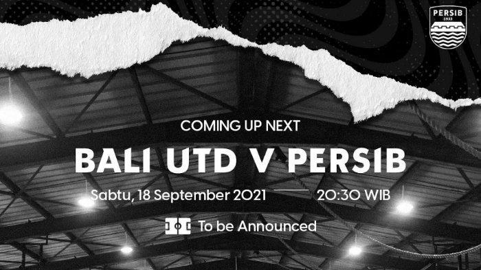 Pertandingan Bali United vs Persib Bandung Liga 1 2021.