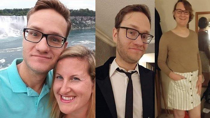 11 Tahun Menikah Istri Izinkan Suami Jadi Transgender, Pamer Foto Perubahan Suami Jadi Wanita