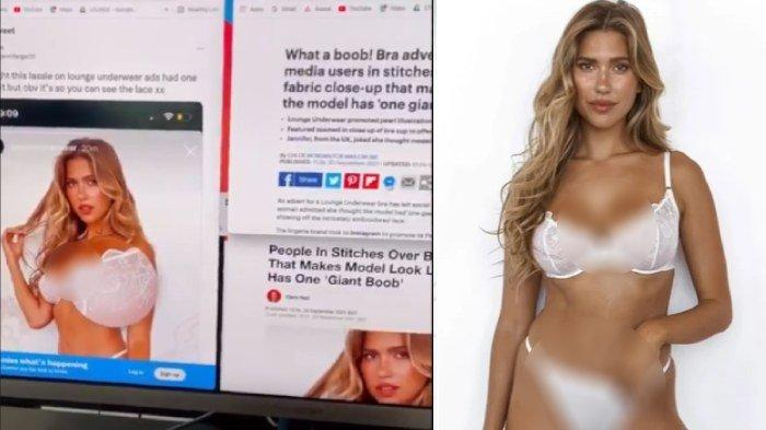 Perusahaan pakaian dalam salah mengedit foto bra mereka
