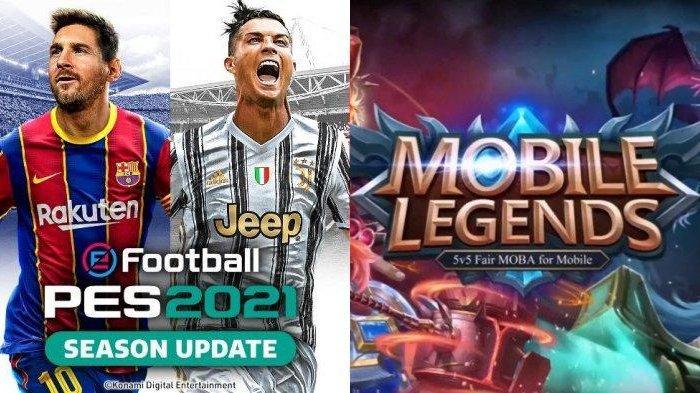 UPDATE PON XX Papua 2021: eFootball PES, Free Fire,Mobile Legends Masuk Cabor Baru eSports