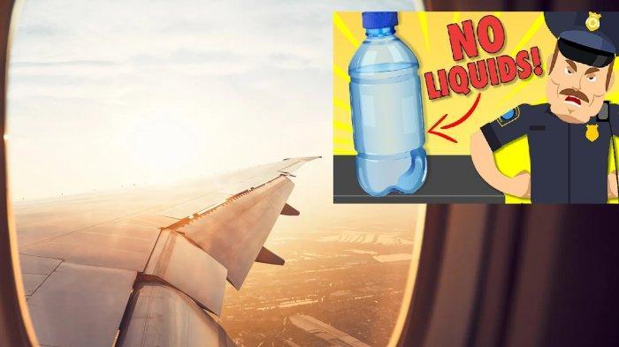 TEKA-TEKI Mengapa Penumpang Pesawat Dilarang Bawa Air Minum Terjawab, Betapa Horor Latar Kisahnya