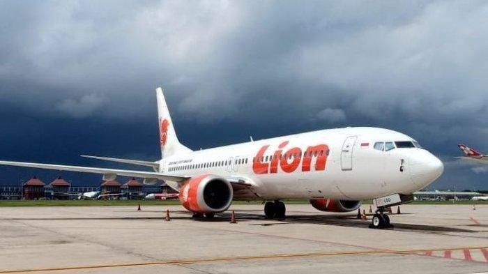 Pesawat Lion Air di Bandarana Supadio, Rabu 25 Agustus 2021.