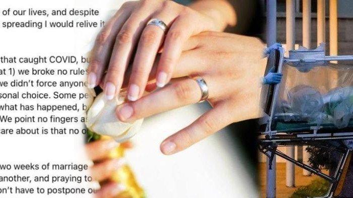 Pernikahannya Jadi Klaster Penyebaran Covid-19, Respon Pengantin Bikin Emosi: Kami Tak Memaksa Hadir