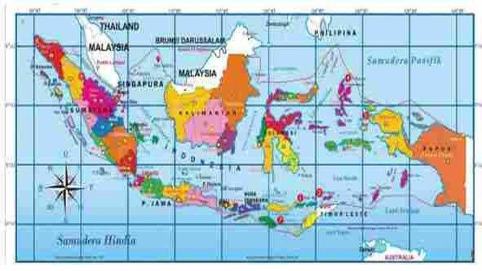 SOAL & KUNCI JAWABAN Tema 1 Kelas 5 Hal 31-40, Kondisi Geografis Pulau Jawa, Sumatra, Kalimantan dll