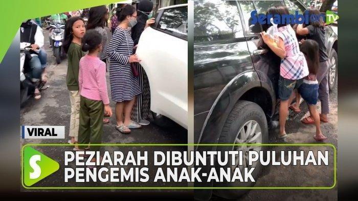 Viral Pengemis Buntuti Peziarah di TPU, Gedor Mobil Sampai Mau Ikut Naik, Pengunggah: Ganggu Banget