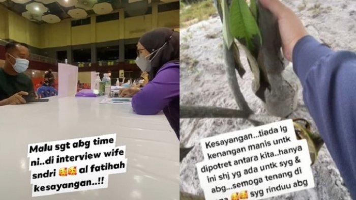 VIRAL Video Suami Divaksin Istri Sendiri, Awalnya Romantis, Ujungnya Sedih Berakhir di Pemakaman