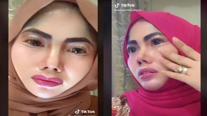 Penampilan PNS Viral Berdandan Ala Barbie, Make Up Hidung & Bibir Jadi Sorotan, Intip Foto-fotonya!