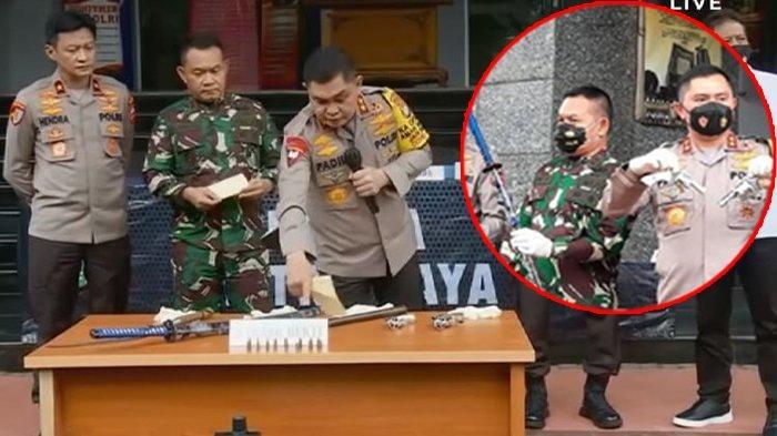 Polisi Tunjukkan 2 Pistol dan Pedang Milik Pendukung MRS yang Tewas Ditembak, FPI: Tidak Benar!