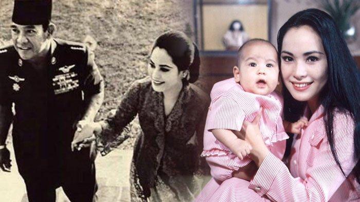 Ratna Sari Dewi dan putrinya