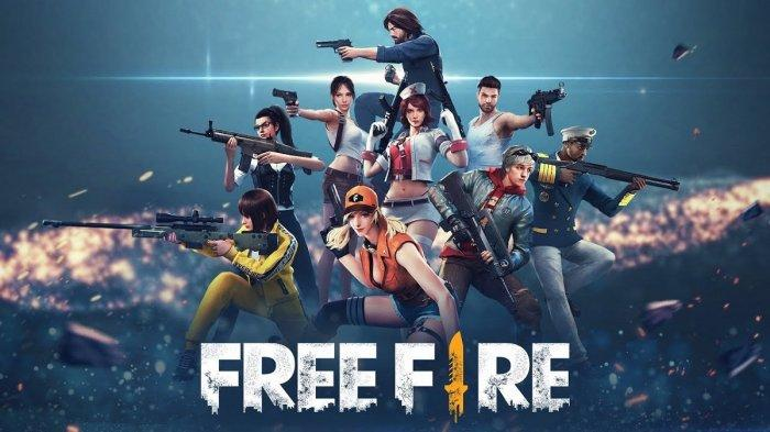 Poster game Free Fire.