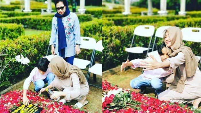Sebulan Berlalu, Ibunda BCL Ungkap Sikap Tak Biasa Putrinya di Makam Ashraf Demi Obati Kangen