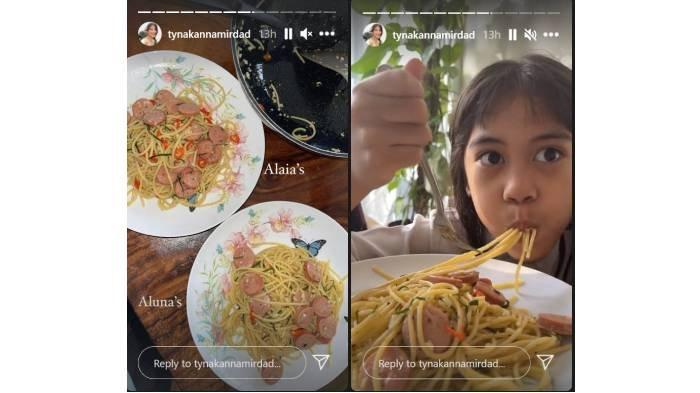 Postingan Instagram <a href='https://manado.tribunnews.com/tag/tyna-kanna-mirdad' title='TynaKannaMirdad'>TynaKannaMirdad</a>