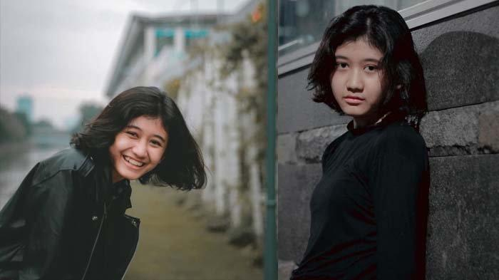 Potret Amel, gadis 18 tahun yang disebut mirip penyanyi Nike Ardilla