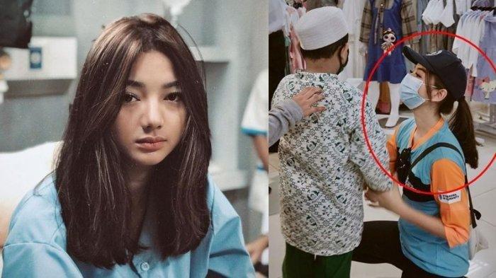 Gadis Bertopi Beli Baju untuk Anak Yatim di Mall Ini Ternyata Glenca Chysara, Sempat Tak Dikenali