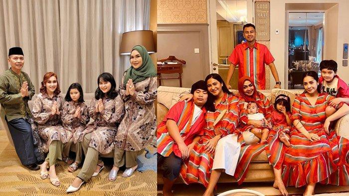 PENAMPILAN Raffi Ahmad hingga hingga Ashanty saat Lebaran Bareng Keluarga, Ada yang Sedia Dua Baju