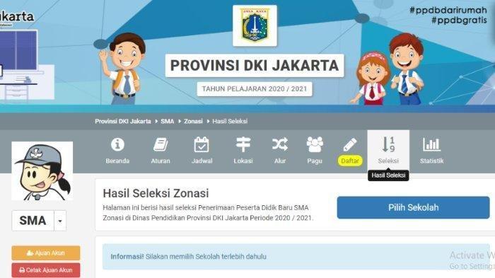 Pendaftaran PPDB DKI Jakarta 2021, Jangan Panik Jika Lupa Password Akun, Ini Cara Mengatasinya