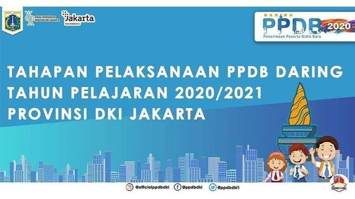 CARA MUDAH Cek Hasil PPDB SD, SMP, SMA Jalur Zonasi Jakarta, Klik ppdb.jakarta.go.id Lihat Tahapan