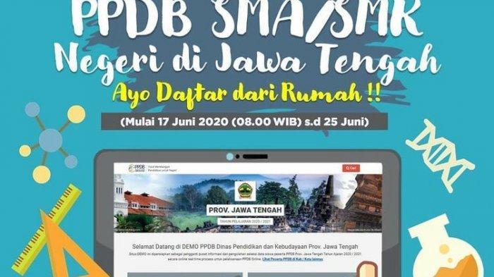 CEK SEGERA! Hasil PPDB Jateng SMA/ SMK Selasa 30 Juni 2020, Klik jateng.siap-ppdb.com, Lengkap!