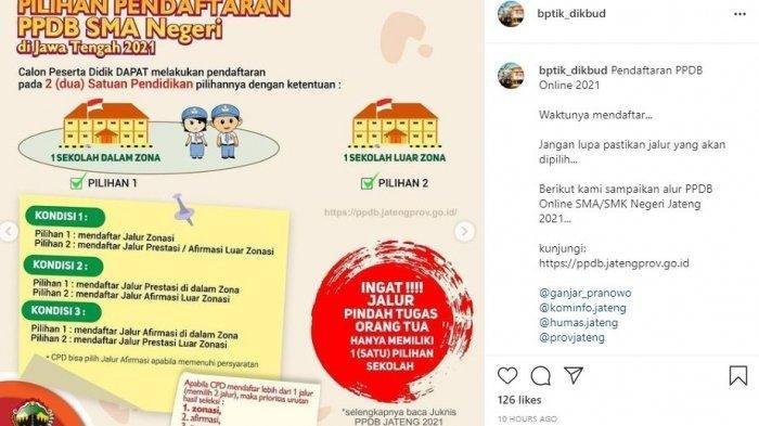 DIBUKA Pendaftaran PPDB Online SMA/SMK di Jawa Tengah, Simak Jadwalnya, Akses ppdb.jatengprov.go.id