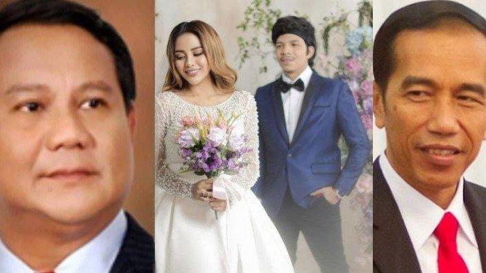 TEKA-TEKI Lokasi Nikah Atta & Aurel Dijaga Paspampres, Terkuak Jokowi & Prabowo Disebut jadi Saksi