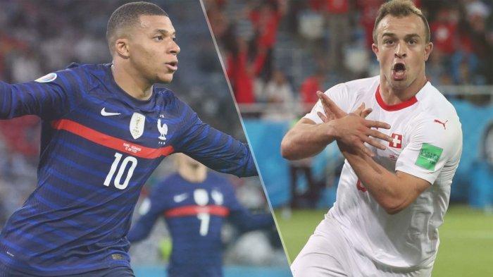 PREDIKSI Pertandingan Prancis vs Swiss Euro 2020 16 Besar, Duel Klasik Demi Tiket Perempat Final