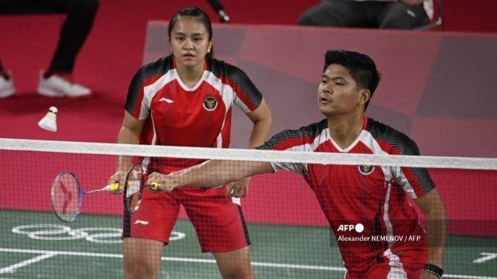 SEDANG BERLANGSUNG Laga Badminton Olimpiade Tokyo 2020, Praveen/Melati Lawan Tim Jepang, Ini Linknya