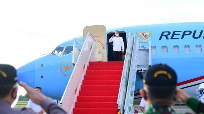 Presiden Jokowi Tinjau Vaksinasi Covid-19 di Daerah Pelosok, Sambangi Kecamatan Kao,Halmahera Utara