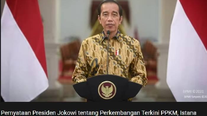 PPKM Level 4 Berakhir Hari Ini, Benarkah Diperpanjang Mulai 10 Agustus 2021? Ini Penjelasan Jokowi