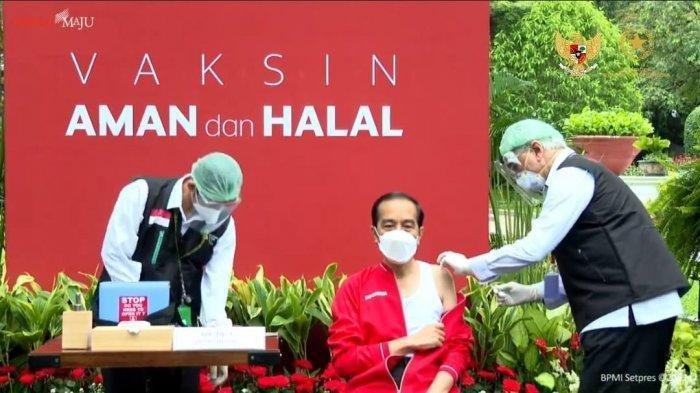 Presiden Jokowi Imbau Masyarakat Tak Ragu Vaksinasi Covid-19, Ingatkan Pemerintah Gerak Cepat