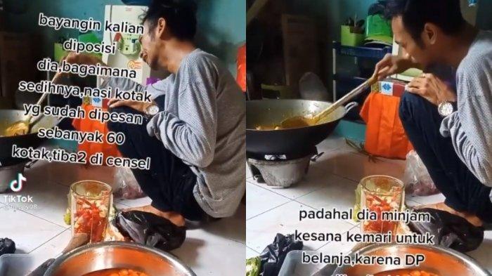 Rezeki Tak Kemana, Pria Ini Nangis 60 Pesanan Nasi Kotak Dibatalkan, Kini Dapat Ganti Berkali Lipat