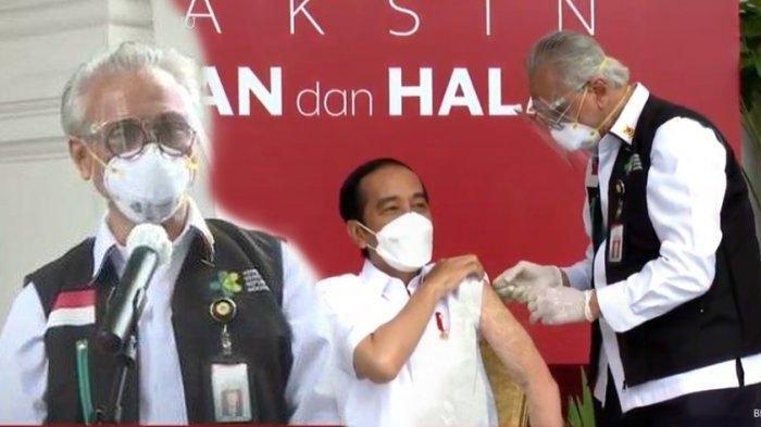 Profesor Abdul Muthalib jadi penyuntik vaksin Presiden Jokowi