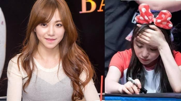 Kwon Mina - 5 Fakta Mantan Member AOA yang Berkali-kali Lakukan Percobaan Bunuh Diri
