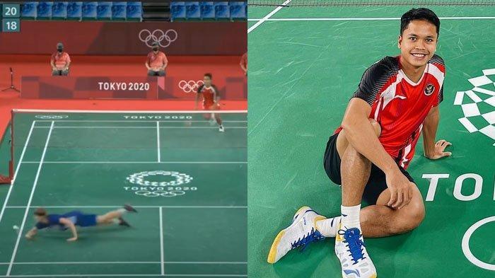 TEKUK LUTUT Pemain Denmark, Anthony Ginting Lolos Semifinal Olimpiade Tokyo 2020, Simak Profilnya
