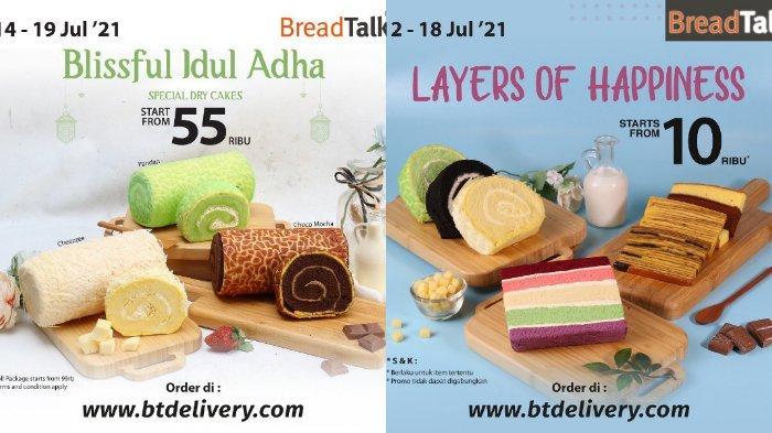 PROMO Spesial BreadTalk Terbaru 14 - 19 Juli, BlisfullIdul Adha hingga Roll Cakes Hanya Rp 55 Ribu
