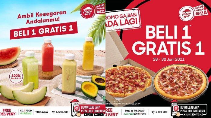PROMO Pizza Hut Spesial Hari Ini Senin 28 Juni 2021, Beli 1 Gratis 1, My Box dan Chicken Royale