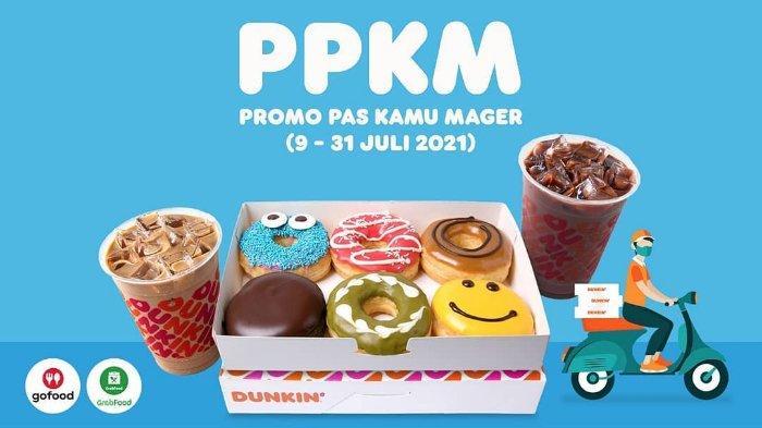 PROMO PPKM Dunkin Donuts Terbaru Sabtu 10 Juli 2021, Pay 1 For 2 hingga Donuts Classic