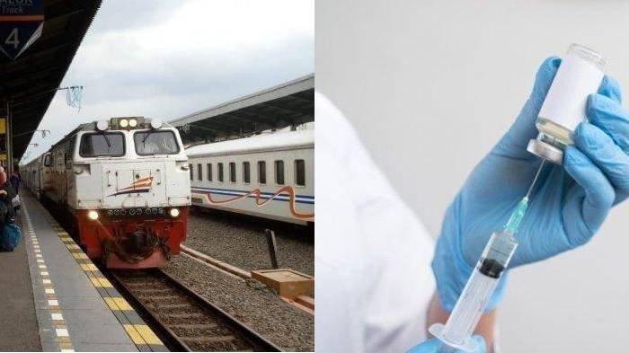 13 Stasiun Kereta Api Indonesia yang Layani Vaksinasi Covid-19, Erick Thohir Sebut Berjalan Lancar