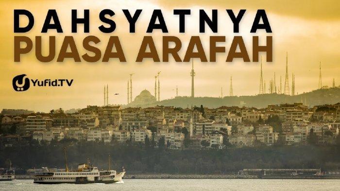 Berkah Puasa Arafah sehari sebelum Idul Adha