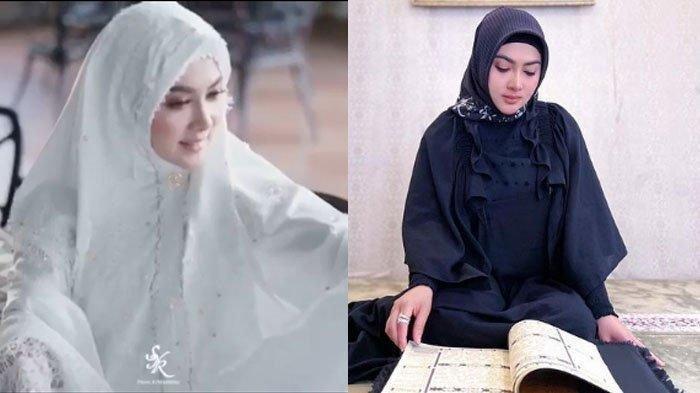 Pulang dari Jepang, Syahrini Tampil Beda dengan Hijab, Istri Reino Barack Akui Sudah Khatam Al-Quran