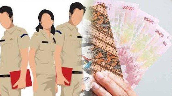 Pegawai Negeri Sipil (PNS) dan ilustrasi THR