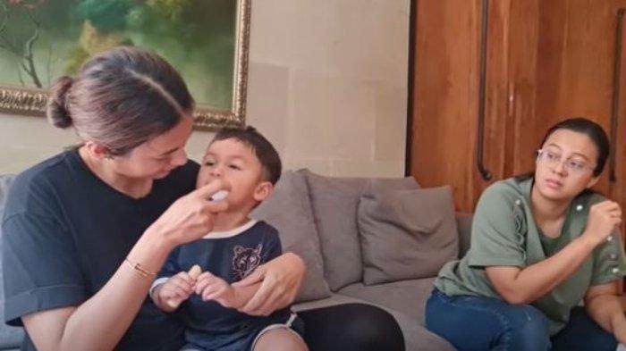 Cemasnya Paula Verhoeven Lihat Kondisi Kiano Idap Flu Singapura, Tak Kunjung Sembuh, Ini Kata Dokter