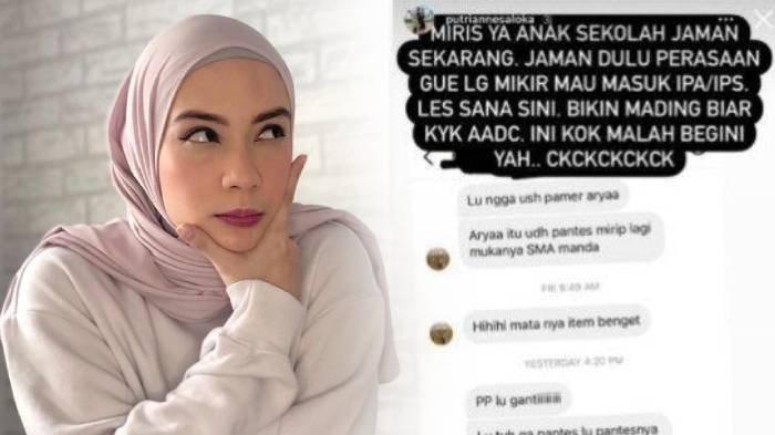 Putri Anne Dihina Anak Sekolah yang Sebut Jangan Sok Pamer Arya Saloka & Lebih Pantas dengan Andin