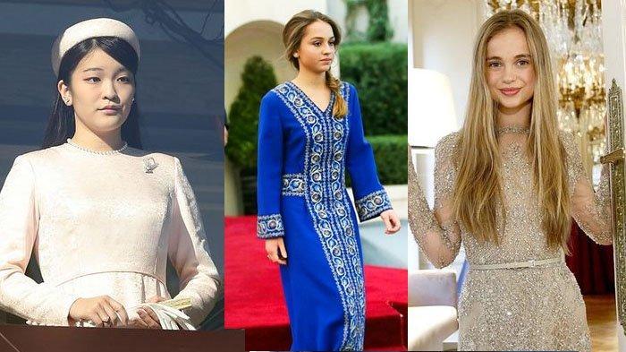 5 Putri Kerajaan di Era Modern, Adu Gaya Kehidupan Putri Mako Jepang hingga Putri Iman dari Yordania