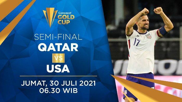 JADWAL Link Live Streaming, Head to Head, Prediksi Qatar vs Amerika Serikat Piala Emas CONCACAF 2021