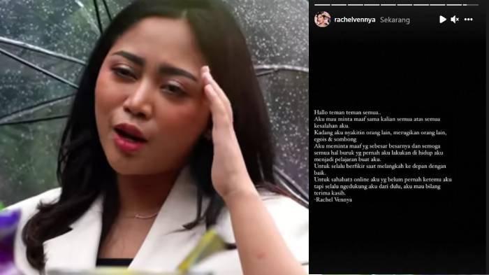Rachel Vennya minta maaf atas kejadian kabur dari karantina Wisma Atlet