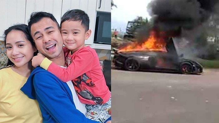Raffi Ahmad ceritakan kronologi mobil Lambo-nya terbakar