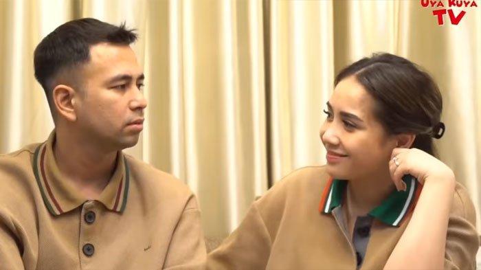 Raffi Ahmad dan Nagita Slavina (YouTube Uya Kuya TV)