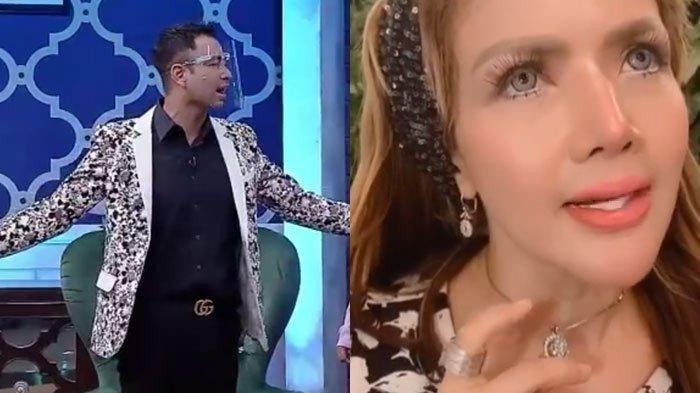 Raffi Ahmad semprot Barbie Kumalasari, tak terima dengan ramalannya.